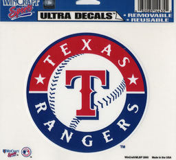 Texas Rangers Decal