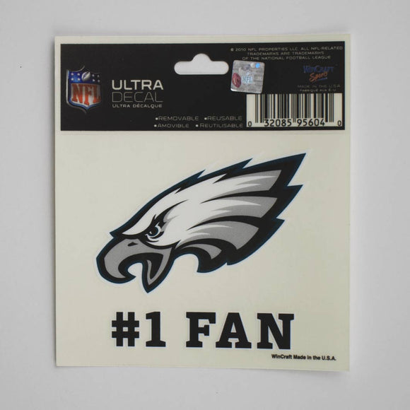 Philadelphia Eagles #1 Fan Ultra Decal