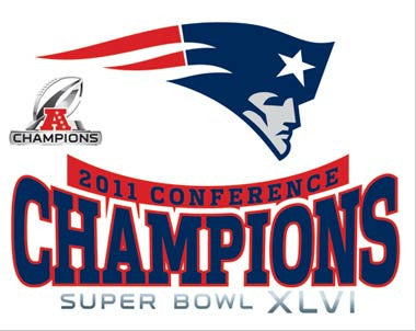 New England Patriots Super Bowl Champs Ultra Decal