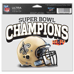 New Orleans Saints Super Bowl Champs Ultra Decal
