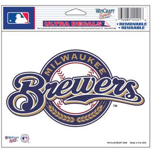 Milwaukee Brewers Decal