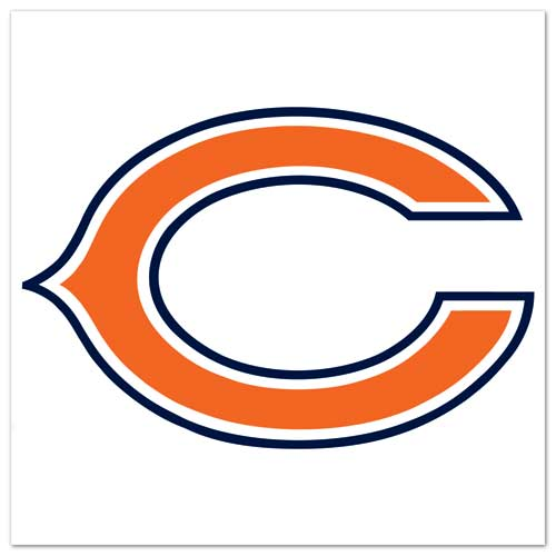 Chicago bears Reflective Decal