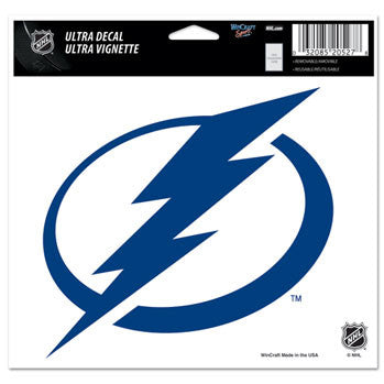 Tampa Bay Lightning Decal