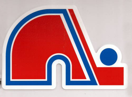 Quebec Nordiques 8x8 Die Cut Decal