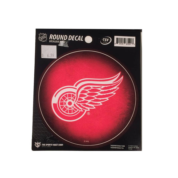Detroit Red Wings Round Decal