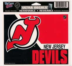 New Jersey Devils Decal