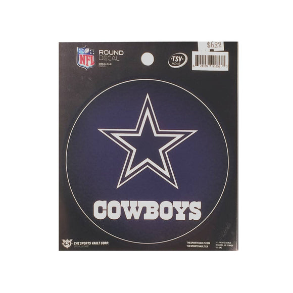 Dallas Cowboys Round Decal