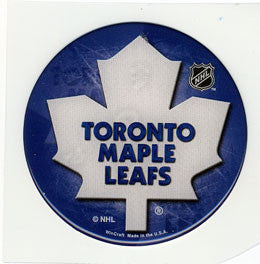 Toronto Maple Leafs Domed Decal