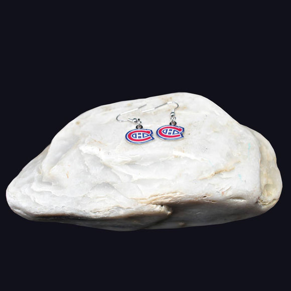 Montreal Canadiens Team Logo Earrings