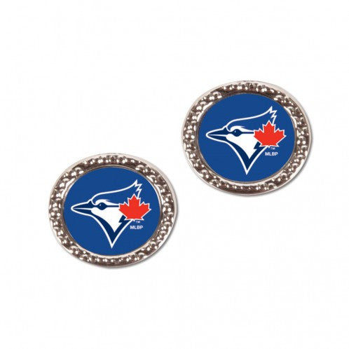 Toronto Blue Jays Round Earrings