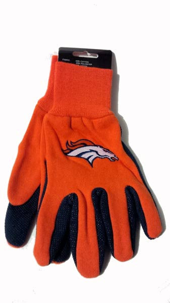 Denver Broncos NFL Work Gloves
