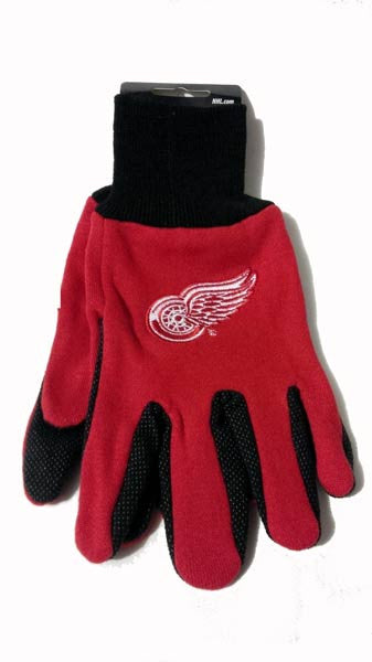Detroit Red Wings Work Gloves