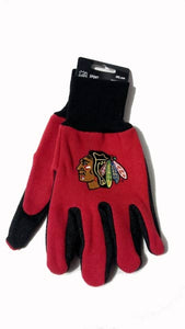Chicago Blackhawks Work Gloves