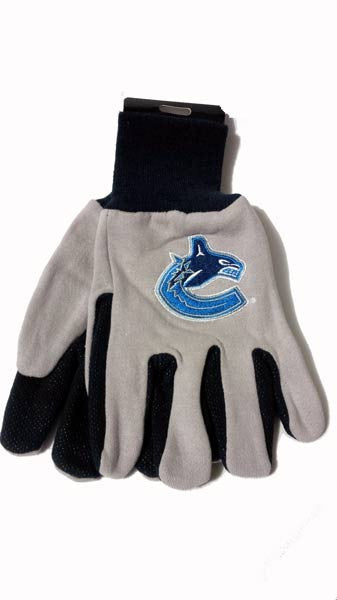 Vancouver Canucks Work Gloves