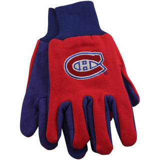 Montreal Canadiens Work Gloves