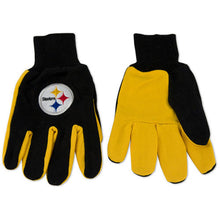 Load image into Gallery viewer, Pittsburgh Steelers Work Gloves