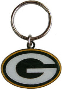 Green Bay Packers Die Cut Iron Keychain