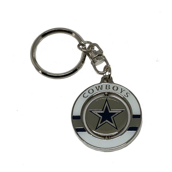 Dallas Cowboys Spinner Keychain