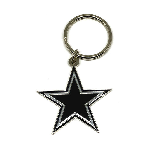 Dallas Cowboys Die Cut Keychain
