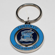 Load image into Gallery viewer, Toronto Argonauts Round Spinner Keychain