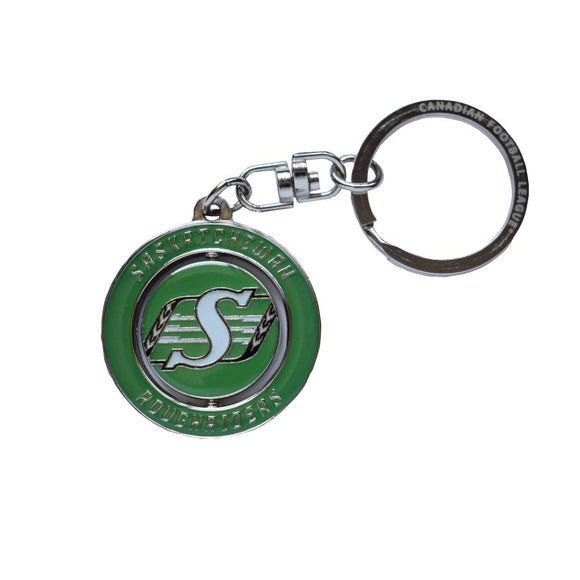 Saskatchewan Roughriders Spinner Keychain