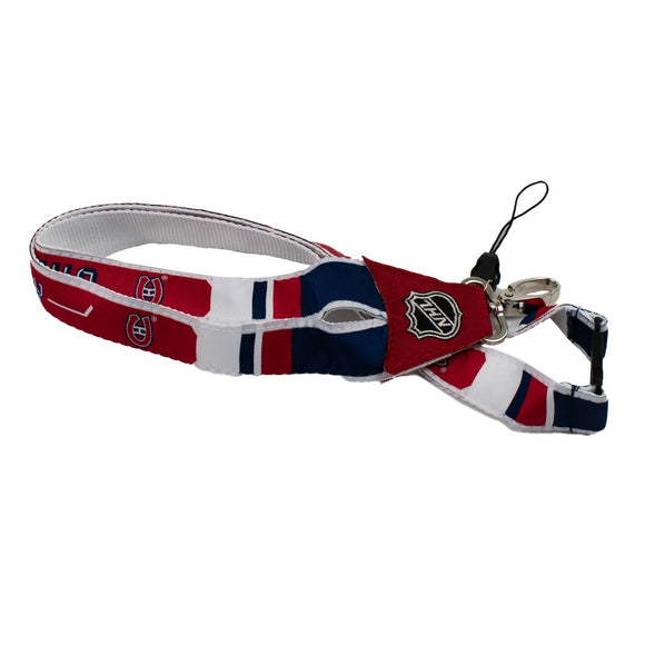 Montreal Canadiens Premier Woven Lanyard