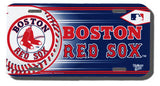 Boston Red Sox License Plate Design#2