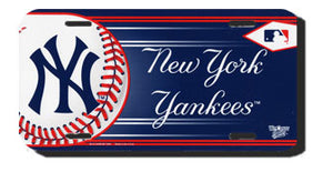 New York Yankees License Plate Design#1