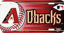 Arizona Diamondbacks License Plate