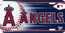 Anaheim Angels License Plate