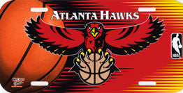Atlanta Hawks License Plate