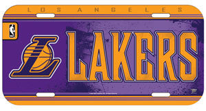 Los Angeles Lakers License Plate