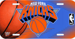 New York Knicks License Plate