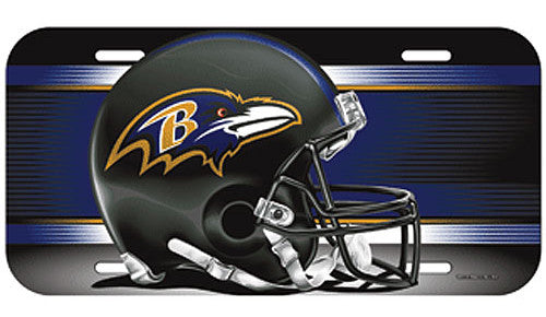 Baltimore Ravens License Plate