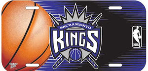 Sacramento Kings License Plate