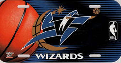 Washington Wizards License Plate