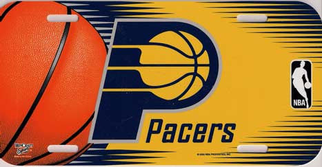 Indiana Pacers License Plate