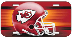 Kansas City Chiefs License Plate