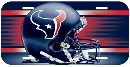 Houston Texans License Plate