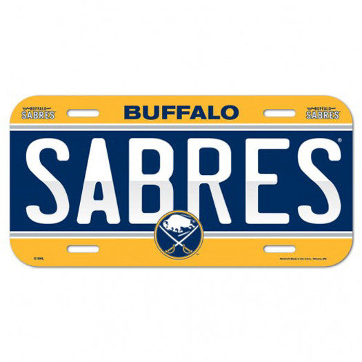 Buffalo Sabres License Plate