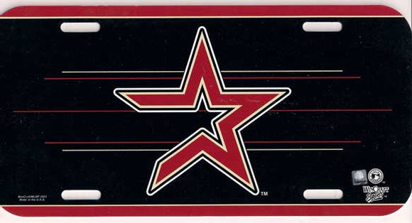 Houston Astros License Plate
