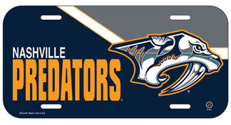 Nashville Predators License Plate