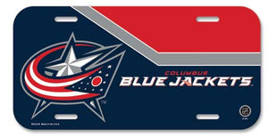 Columbus Blue Jackets License Plate