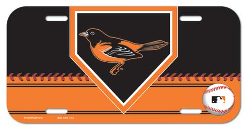 Baltimore Orioles License Plate Design #2