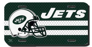 New York Jets License Plate