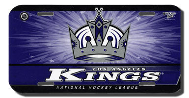Los Angeles Kings License plate