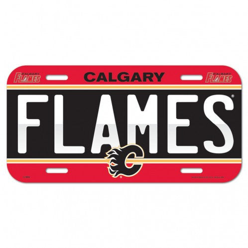 Calgary Flames License Plate