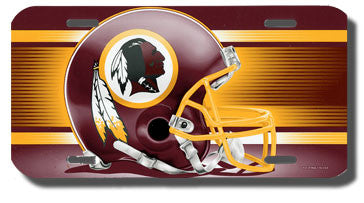 Washington Redskins License Plate