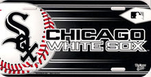 Load image into Gallery viewer, Chicago White Sox License Plate Design#1