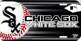 Chicago White Sox License Plate Design#1